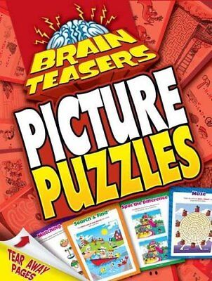 Picture Puzzles (Brainteasers) by Hinkler Books PTY Ltd Paperback Book The Cheap