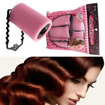 6Pcs Magic Sponge Foam Cushion Hair Styling Rollers Curlers Twist Salon Tool Set