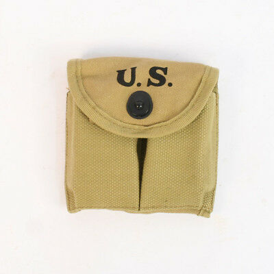 US M1 Carbine Magazine Pouch Reproduction by Combat Serviceable AL108