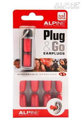 Motorcycle Earplugs Alpine Plug & Go Foam
