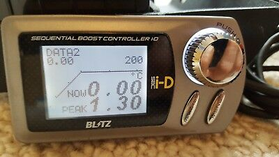 Blitz Boost Controller  Sbc Id 3 Spec R Twin Turbo High **uk Seller** Electronic