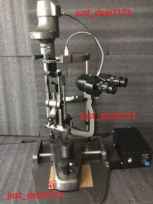 Medical Specialties Ophthalmology/Optometry HAAG-STREIT 2 Step  Slit Lamp P7-98