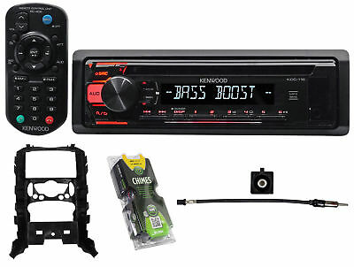 Kenwood 1-Din CD Player Receiver Stereo MP3/Aux+Remote For 2007-2010 Mini Cooper