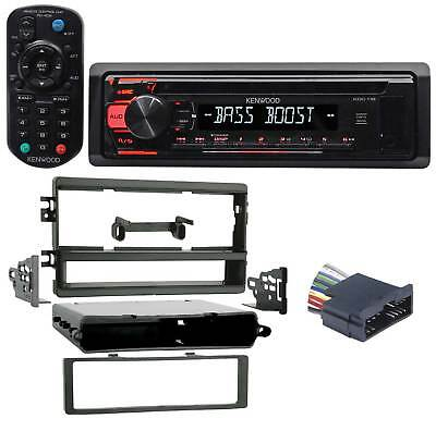 Kenwood CD Player Stereo Receiver w/ Aux/Mp3/WMA, Eq + Remote For 02 KIA Sedona