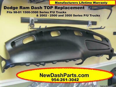 Dodge ram agate dark gray replacement dash dashboard board pad replacement dash top fits 98 99 00 01 02 dodge ram pick up color black fandeluxe Choice Image