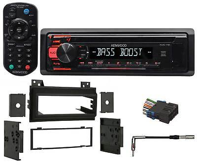 Kenwood CD Receiver Aux/Mp3/WMA/3-Band Eq+Remote For 1994-1997 GMC S-15 Sonoma