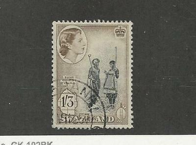 Swaziland, Postage Stamp, #62 Used, 1956