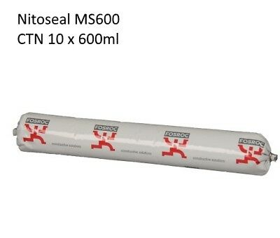Fosroc Nitoseal MS600 Grey - CTN 10 x 600ml