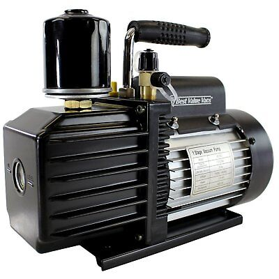 BVV VE115 3CFM Single Stage Vacuum Pump with Carbon Exhaust Filter