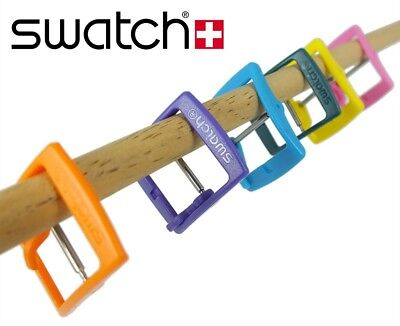 SWATCH PLASTIC REPLACEMENT CLASP PIN BUCKLE 16,5MM for SWATCH GENT / Skin 29039