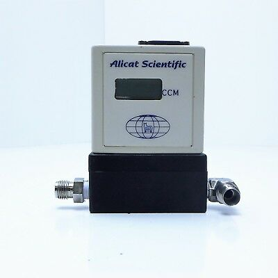 "Alicat Scientific Mass Flow Controller Electronic Testing,1/4"" Npt, #pvhi-500Ccm"