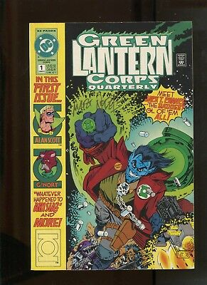 GREEN LANTERN #55 ASSAULT /& BATTERY! SIGNED BY MARTIN NODELL W COA 9.2