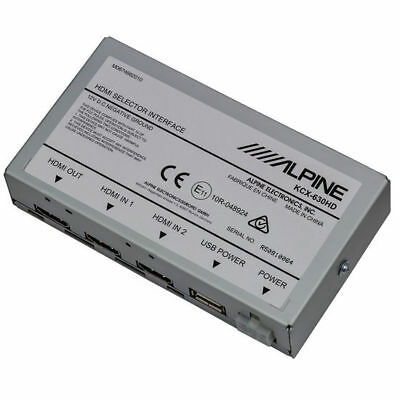 ALPINE HDMI Selector Interface | KCX-630HD