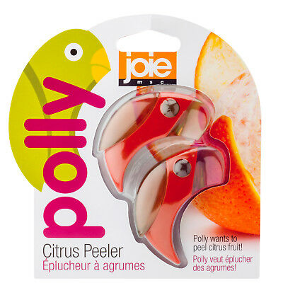 Joie Polly Citrus Peeler 2 Pack, Assorted Colors