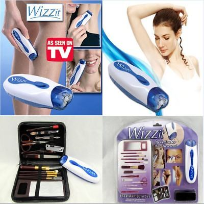 Hair remover set High Quality electric epilator +Makeup tools + Storage bag lad