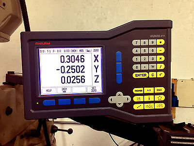 Acu-Rite Anilam Wizard 411 3-Axis LCD Readout, Factory Refurbished by Acu-Rite