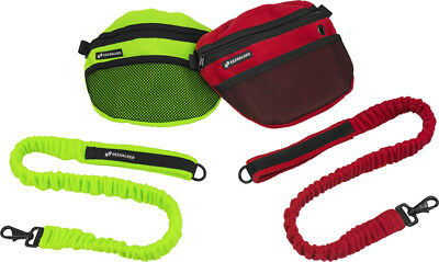 EEZWALKER Handler Bag + Free Bungee Leash - Secure Zipper Closure - Safe & Easy