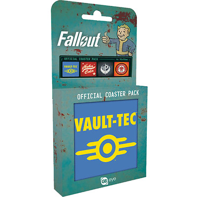 Fallout - 4 Pack Coasters - Loot - BRAND NEW