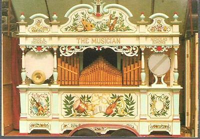 Music - 'The Musician' Fairground Organ 52 Key Page & Howard - postcard