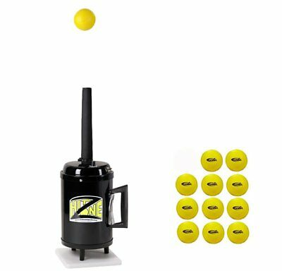 Hit Zone Deluxe Tennis Air Tee Training Aid With Variable Speed Control - Ball F