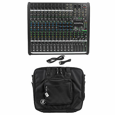 Mackie PROFX16v2 Pro 16 Channel 4 Bus Mixer w Effects and USB PROFX16 V2+Bag