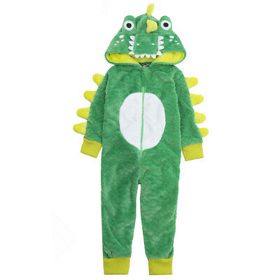 Infant Boys Novelty Croc Onezee Dressing Gown Onezie Bath Robe Dino All in One
