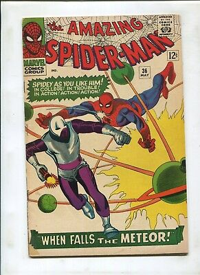 The Amazing Spider-Man #36 (4.0) 1St Appearance Of The Looter!