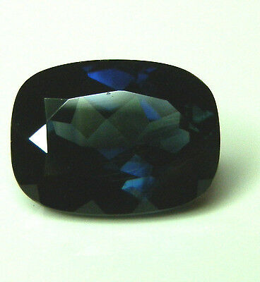 Natural earth-mined large blue/green sapphire oval gemstone...3.2 carat gem