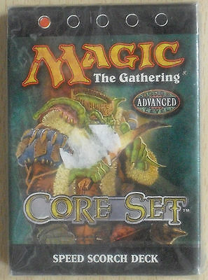 MTG Magic the Gathering - Core Set 8th - Speed Scorch Deck (Neu) englisch