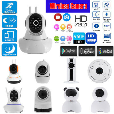 HD 1080P Wireless Wifi IP Camera Security CCTV Network Baby Monitor Night Vision