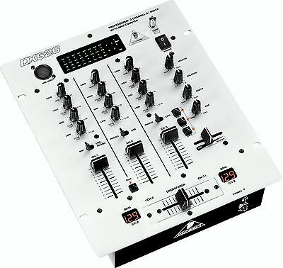 Behringer DX626 3-Channel DJ Mixer w/ BPM counter & 3-band kill EQ  -NEW-