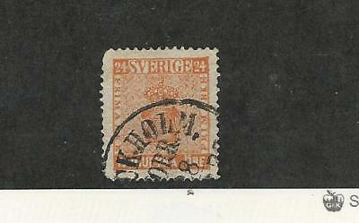 Sweden, Postage Stamp, #10 Used, 1858
