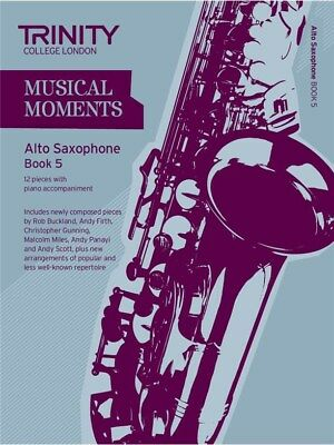 Trinity College London: Musical Moments - Alto Saxophone Book 5. Sheet Music