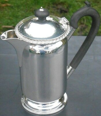 Vintage Silver Plated Hot Water Jug - Gleaming