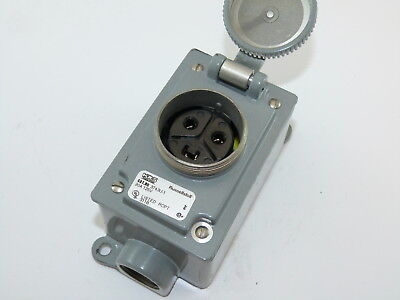 Russellstoll 3743U-1 Receptacle 20a 125v Used