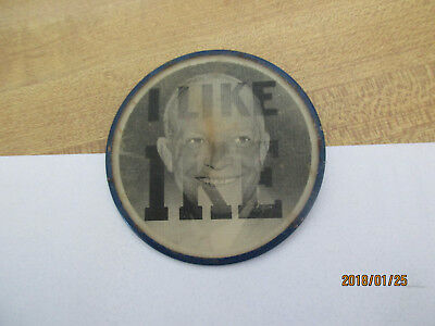 1952 Dwight Eisenhower I LIKE IKE Campaign Flasher Button Cool