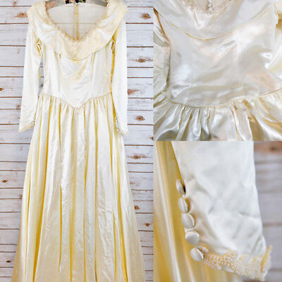 1940s Candlelight Satin Gown