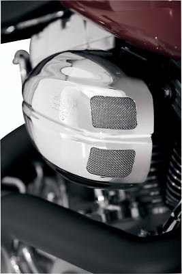 Vance & Hines 70003 VO2 Air Intake with Drak Cover  Chrome