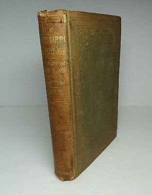 RARE Book - 1859 Mississippi Bubble Memoir of John Law Thiers  Darien Expedition