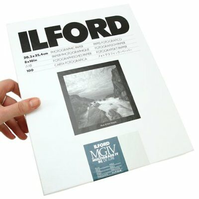 "Ilford Multigrade IV RC DeLuxe Paper (Pearl, 8 x 10"", 100 Sheets) #1771318"