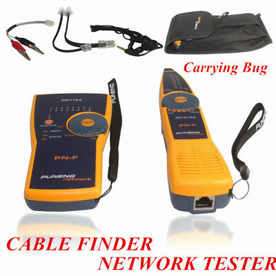 Telephone Lan Network RJ11 RJ45 Tracker Cable Wire Finder Tracer Tester Probe