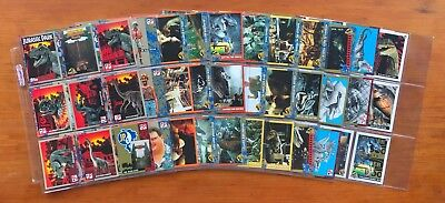 """1993 Topps """"Jurassic Park - Series 1"""" - Complete Set of 88 Cards + 11 Stickers"""