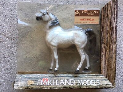 "Hartland Breyer Horse 9"" Arabian Family Stallion Matte Dapple Grey New NIP #246"