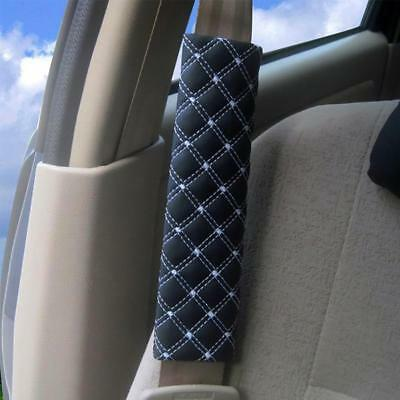 2Pcs Car Safety Seat Belt Shoulder Pads Cover Cushion Harness Pad Protector 20cm
