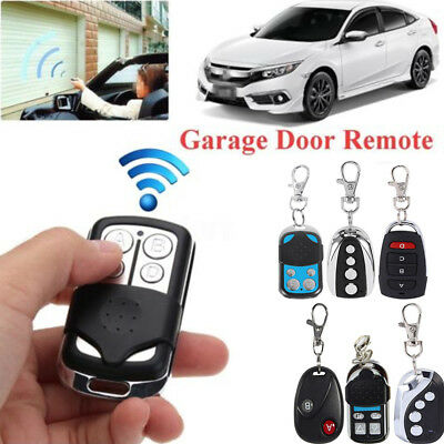 433.92Mhz Auto Wireless Transmitter Gate Opener Cloning Remote Control Key 2018
