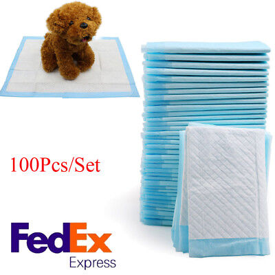 100-Dog Safty Puppy 33x45cm Pet Housebreaking Pad, Pee Training Pads, Underpads