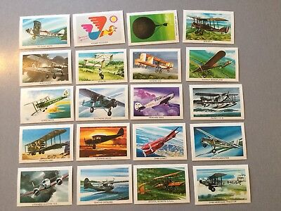 Sunblest Tip Top Air Race Cards Full Set Of 20