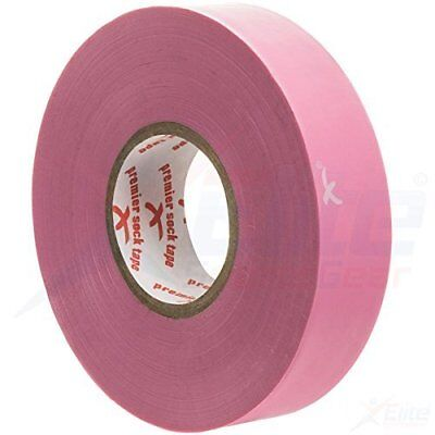 Premier Sock Tape 19mm Pro Extra Stretch Football Rugby Sock Tape - Pink