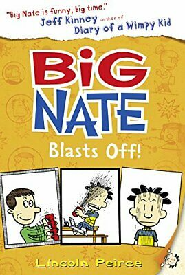 Big Nate Blasts Off (Big Nate, Book 8) by Peirce, Lincoln Book The Cheap Fast