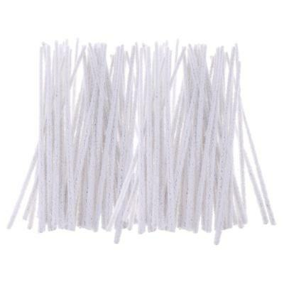 Pack of 100 Smoking Pipe Cleaner Tobacco Pipe Cleaning Tool Cotton White DIY